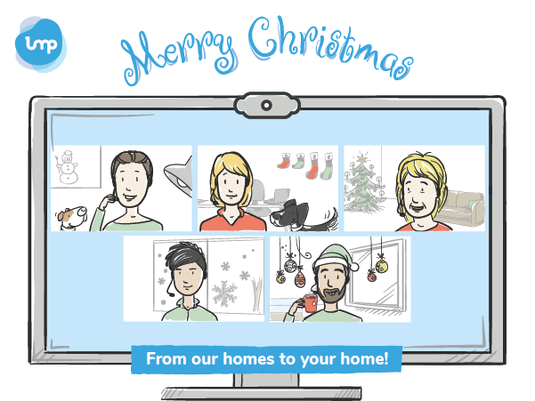 Merry Christmas - From our homes to your home!