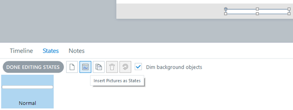 Insert Pictures as States in Storyline